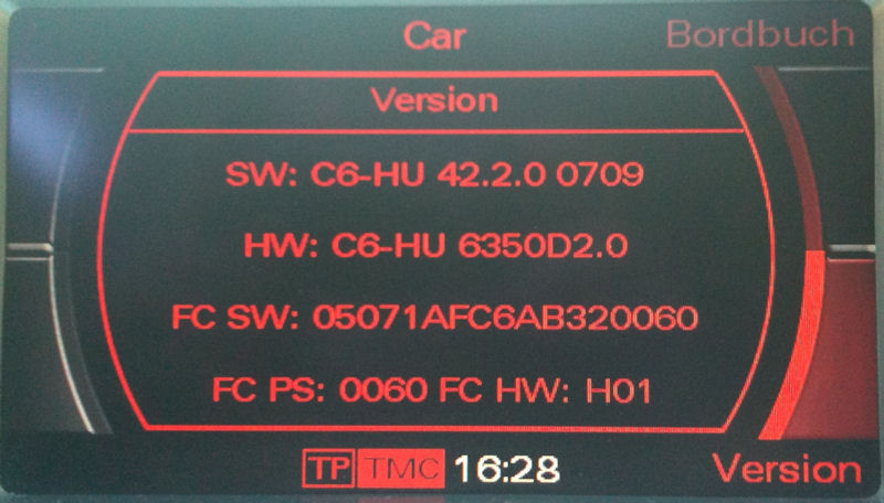 mise à jour mmi de 12.0.0 vers 5.5.70 - a6 c6 / a6l c6 / allroad